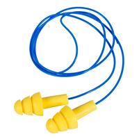 YELLOW CORDED EARPLUGS