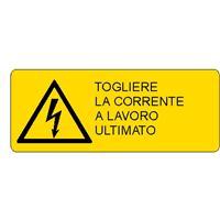 ALLUMINIO PERICOLO 330X500