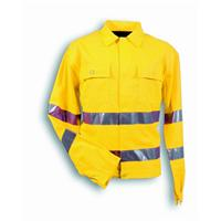 Yellow jacket hi-visibility