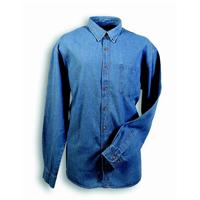 LONG SLEEVES JEANS SHIRT